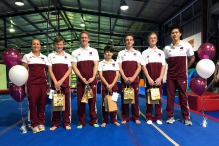 GOLD COAST ATHLETES – QLD STATE TEAM  REPRESENTATIVES